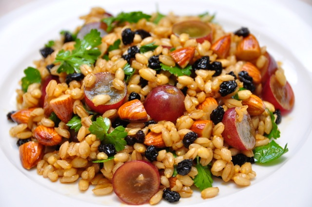 VinCotto Raisins, Almonds and Grape Barley Salad