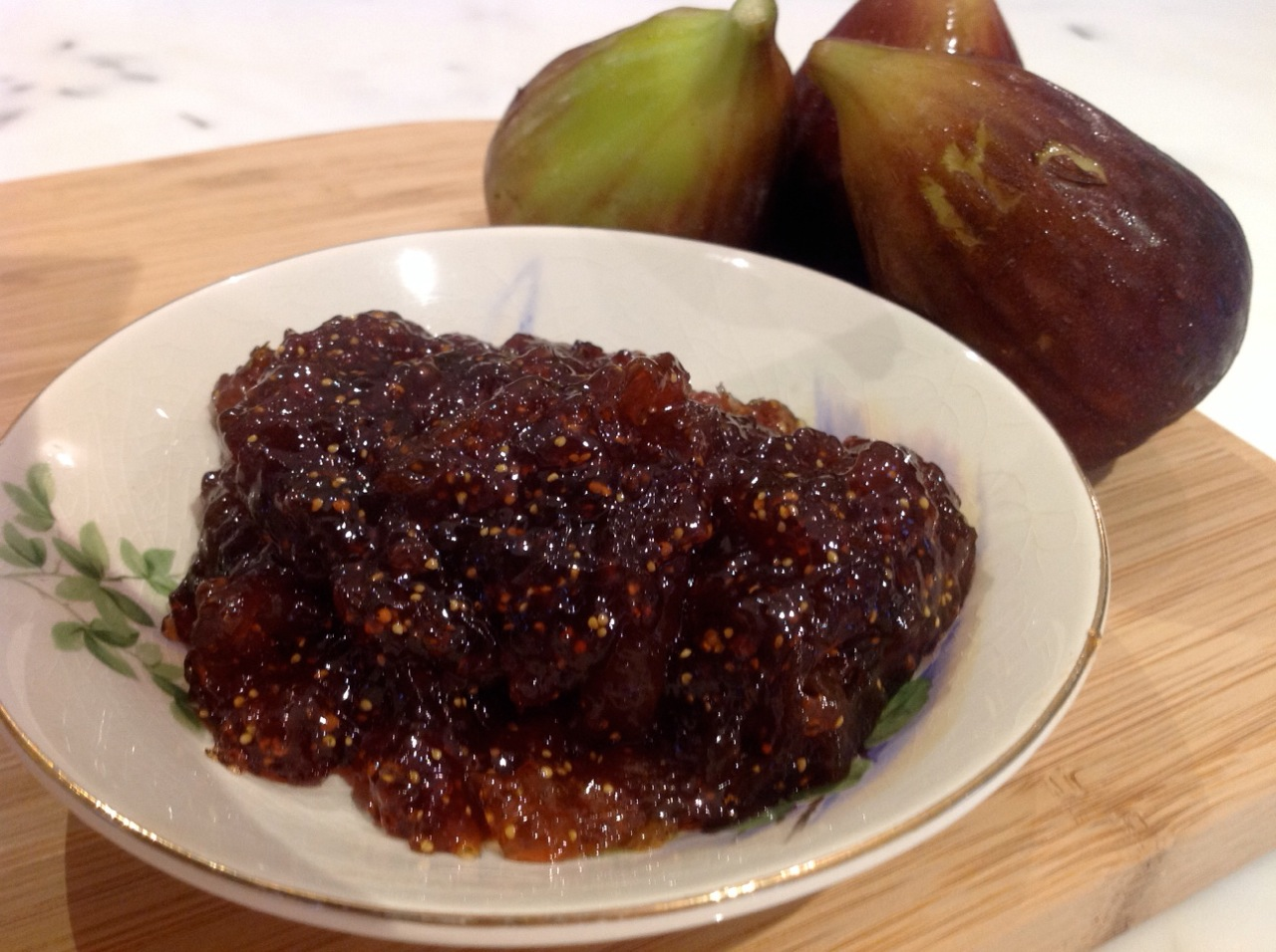 Burnt Fig Jam with Vincotto
