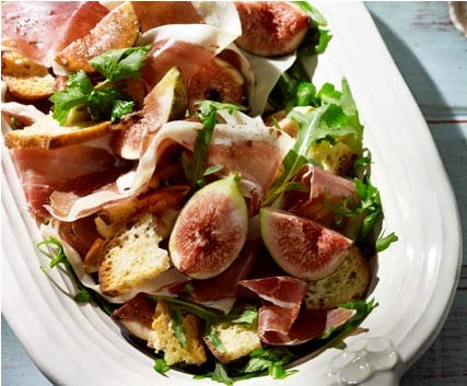 crispy prosciutto peach mozzarella and crispy prosciutto salad recipes ...