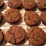 Chocolate, coffee, hazelnut & vino cotto rounds biscuits