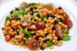 VinCotto Raisins, Almonds and Grape Barley Salad