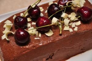 Chocolate, Cherry Semifreddo with VinoCotto