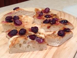schiaccita with grapes vincotto_cut