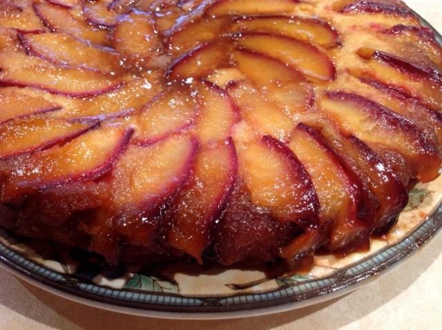 Vino Cotto Plum Upside Down Almond Cake – The Authentic ...