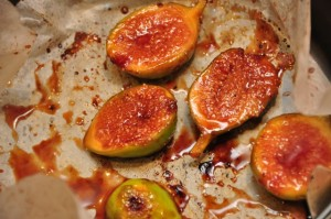 Vino Cotto grilled figs