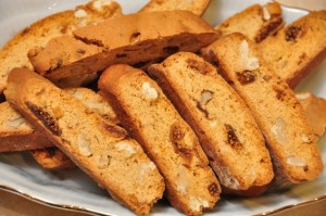 Walnut and Fig VinCotto biscotti
