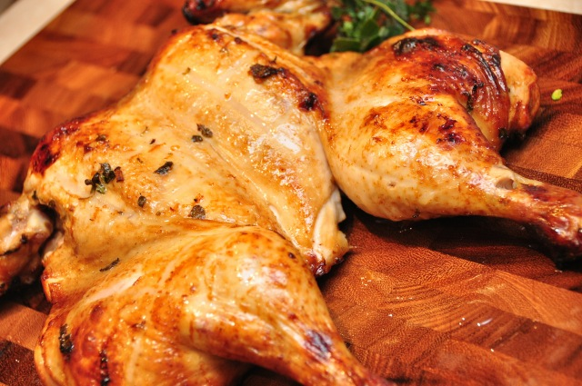 Citrus and VinCotto Roast Chicken